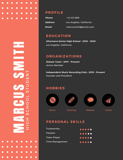 Customize 123+ Infographic Resume templates online - Canva - Resume Design