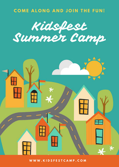 Customize 151+ Summer Camp Flyer templates online - Canva - Summer Camp Flyer Template