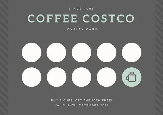 free loyalty cards template