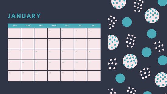 Customize 344+ Daily Calendar templates online - Canva
