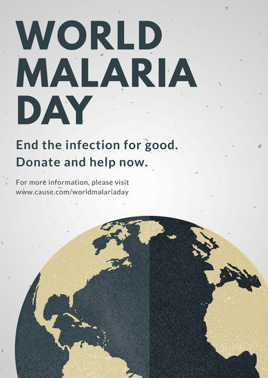 Customize 42+ World Malaria Day Poster templates online - Canva - poster on line