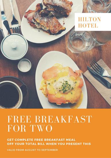 breakfast flyers