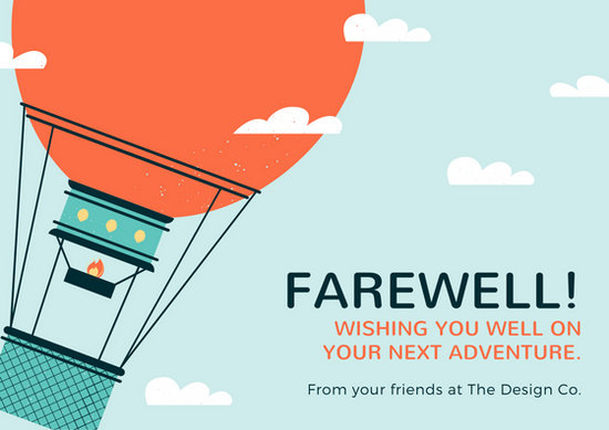Customize 79+ Farewell Card templates online - Canva