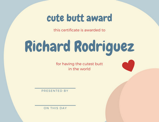 funny award templates - Josemulinohouse - Silly Certificates Awards Templates