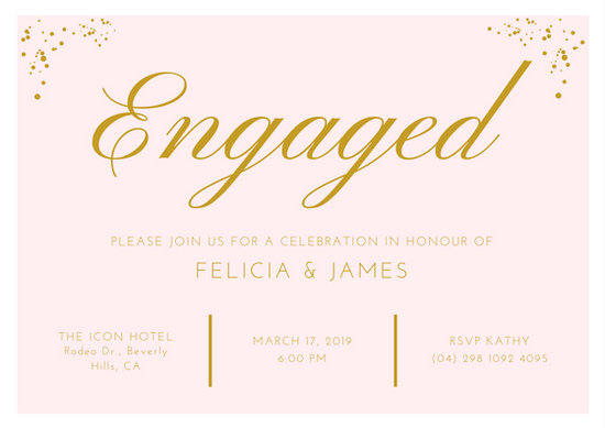 Invitation Cards For Engagement Ideas – Engagement Invite Cards