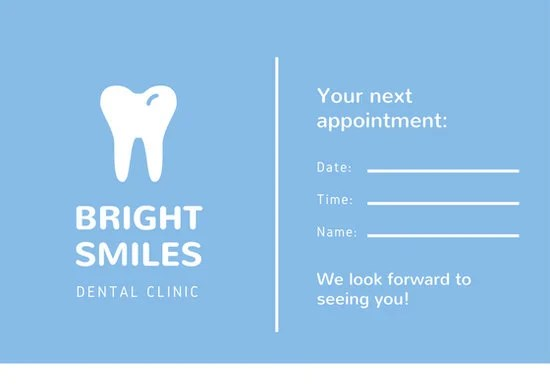 Customize 31+ Appointment Card templates online - Canva - appointment cards free templates
