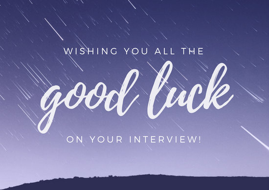 Customize 390+ Good Luck Card templates online - Canva