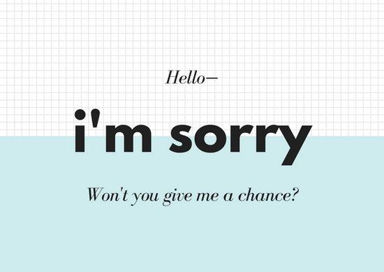 Free Printable Apology Cards cvfreepro