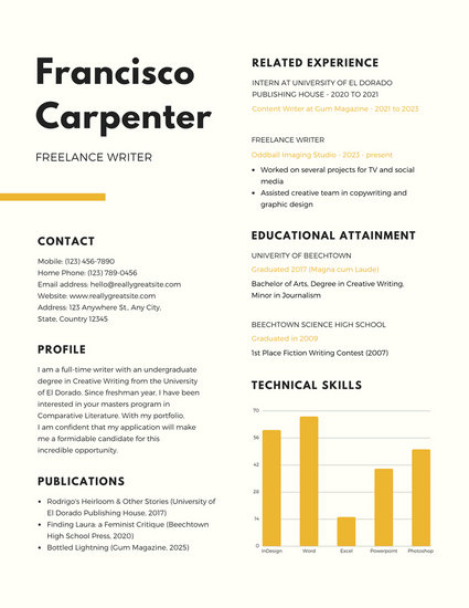 Customize 980+ Resume templates online - Canva - how to write a scholarship resume
