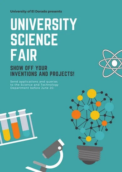 Customize 148+ Science Fair Poster templates online - Canva