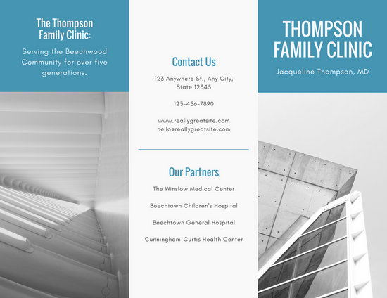 Customize 56+ Medical Brochure templates online - Canva