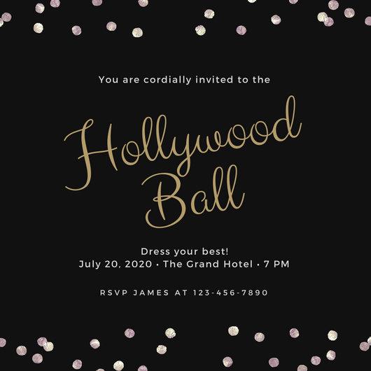 Prom Invitation Templates Portablegasgrillweberhollywood prom