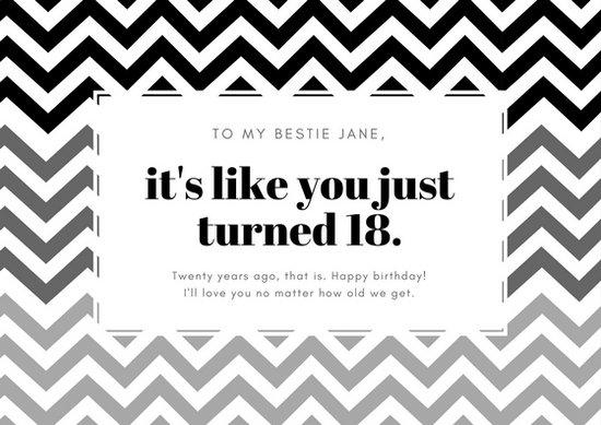 black and white birthday card - Vatozatozdevelopment