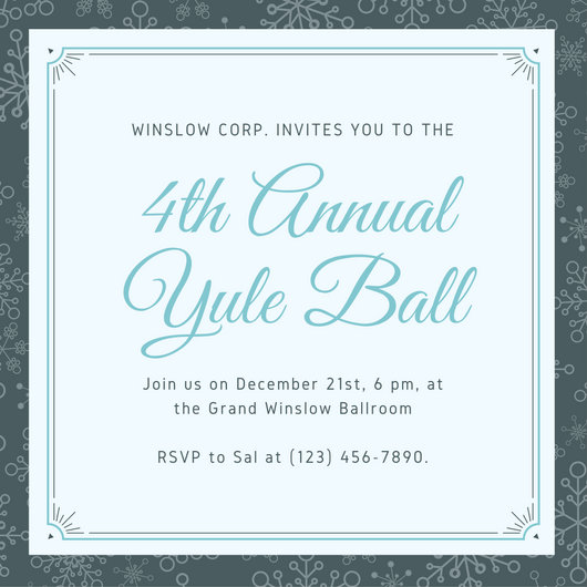 Event Invitation Card - Templates by Canva