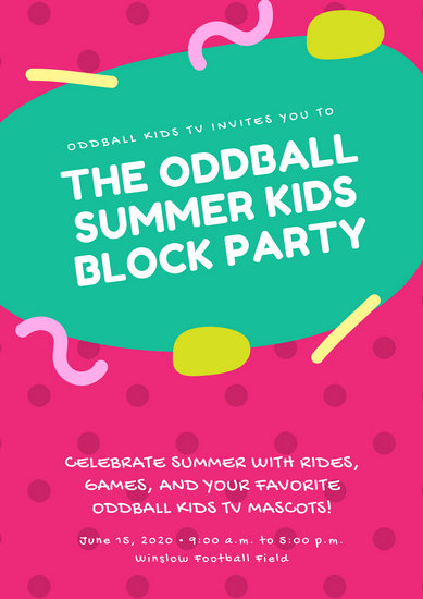 Customize 274+ Block Party Poster templates online - Canva
