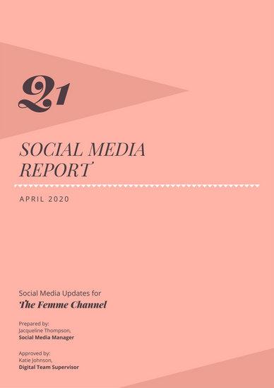 Customize 791+ Report templates online - Canva