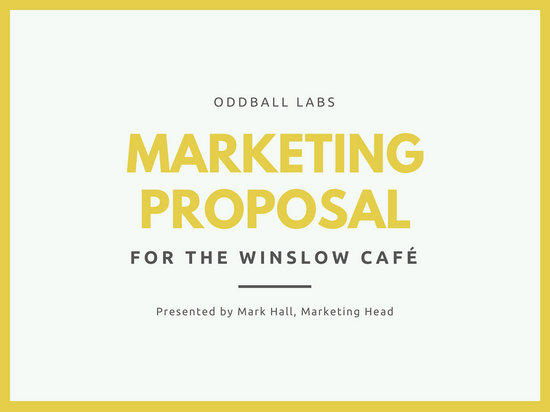 Customize 111+ Marketing Proposal templates online - Canva - marketing proposal templates