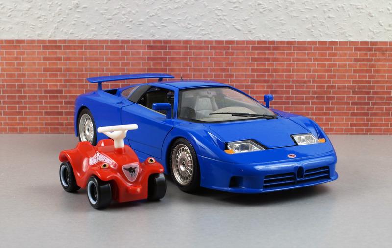 Model Car, Bugatti, Bobby Car, Model, Auto, Oldtimer - Photos by Canva
