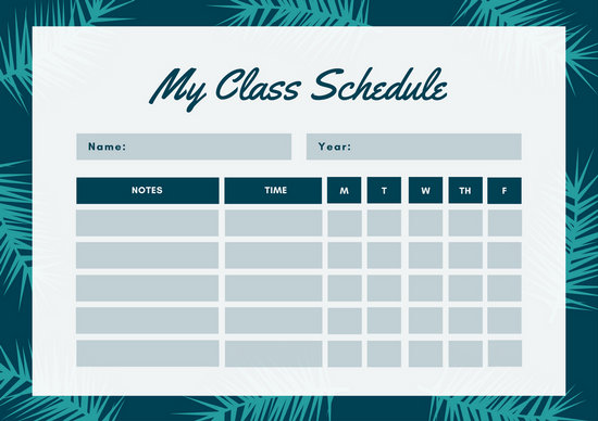 Cute Pics For Mobile Wallpapers Customize 2 726 Class Schedule Templates Online Canva