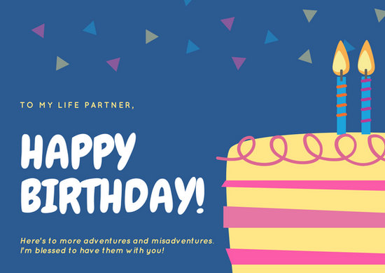 Yellow Wallpapers With Quotes Customize 884 Birthday Card Templates Online Canva