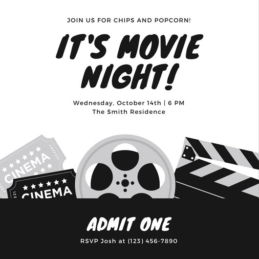 Customize 80+ Movie Ticket templates online - Canva