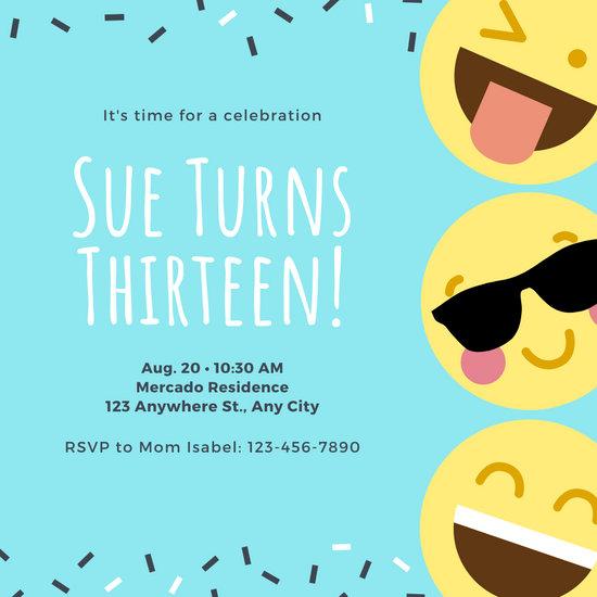 Customize 1,517+ Birthday Invitation templates online - Canva