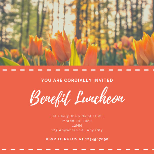 Customize 73+ Luncheon Invitation templates online - Canva