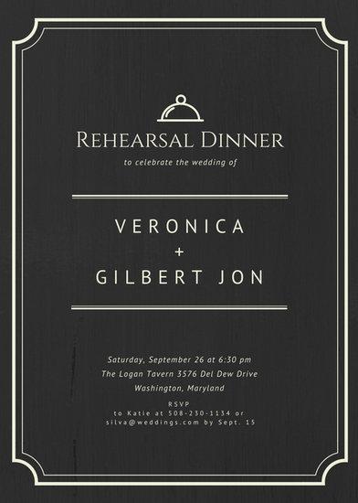 Customize 411+ Rehearsal Dinner Invitation templates online - Canva