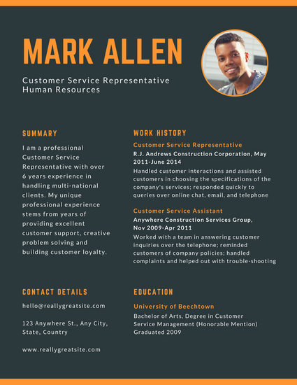 Black, White, Pink, Yellow and Cyan Memphis Style Theatre Resume - customer service resumes