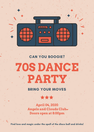 Customize 219+ Party Flyer templates online - Canva - party flyer