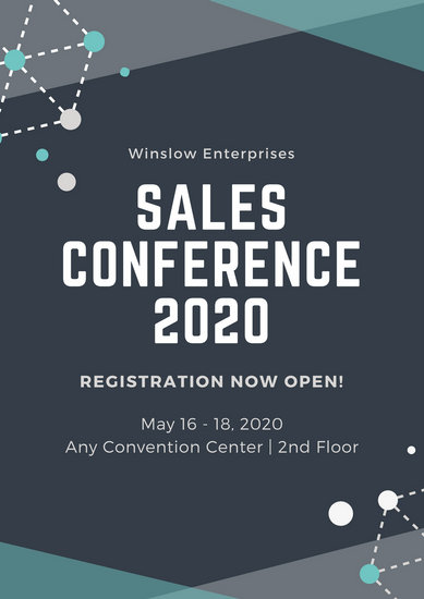 Customize 88+ Conference Poster templates online - Canva