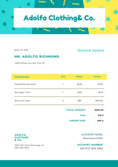 Customize 204+ Invoice templates online - Canva