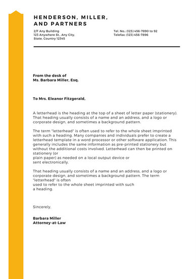 Customize 180+ Business Letterhead templates online - Canva - business letterheads