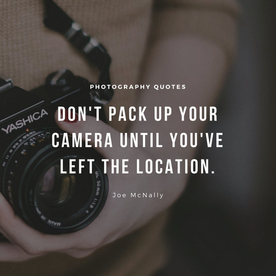 Simple Camera Photography Quote - Templates by Canva - photography quote