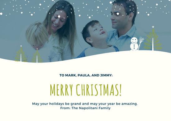 Customize 420+ Christmas Card templates online - Canva