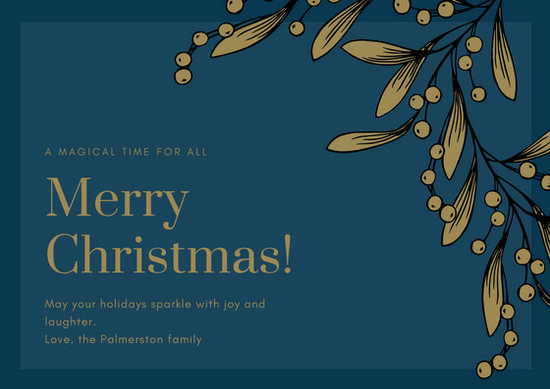 Customize 420+ Christmas Card templates online - Canva