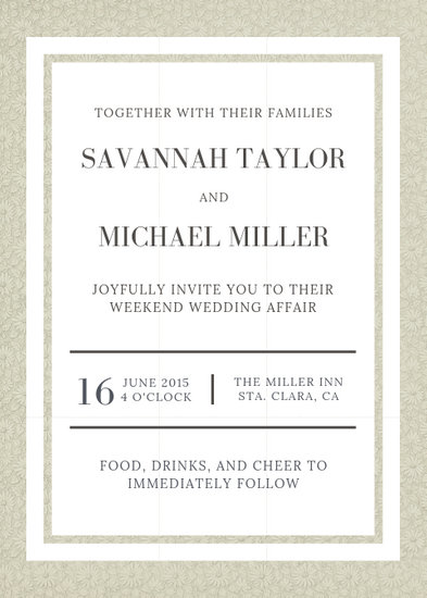 Customize 1,132+ Wedding Invitation templates online - Canva