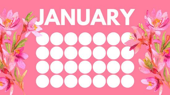 Customize 20+ Birthday Calendar templates online - Canva