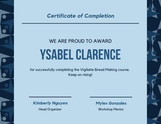 Customize 58+ Workshop Certificate templates online - Canva