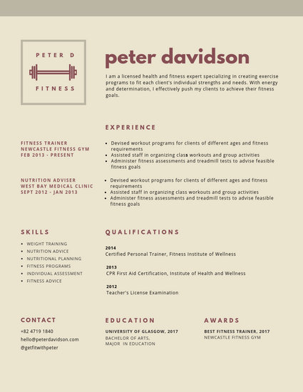 Customize 599+ Simple Resume templates online - Canva