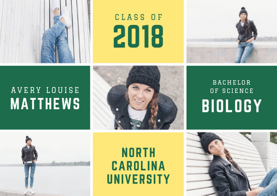 Customize 117+ Graduation Announcement templates online - Canva