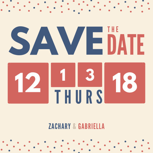 Customize 207+ Save The Date Invitation templates online - Canva