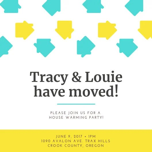 Customize 32+ Housewarming Invitation templates online - Canva