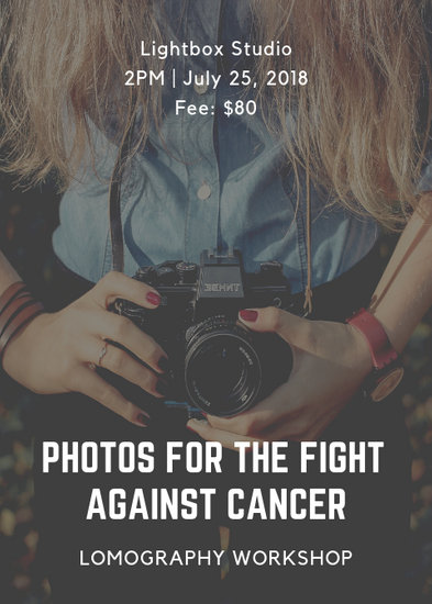 Cancer Fundraising Flyer - Templates by Canva