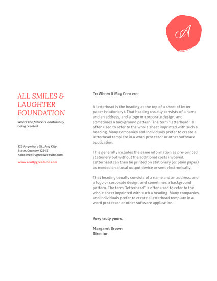 Customize 745+ Letterhead templates online - Canva