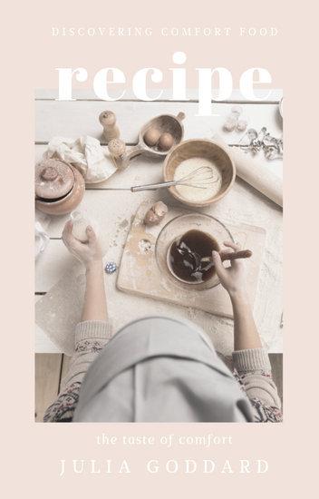 Customize 43+ Recipe Book Cover templates online - Canva