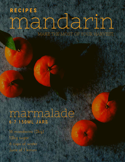 Mandarin Season - Templates by Canva