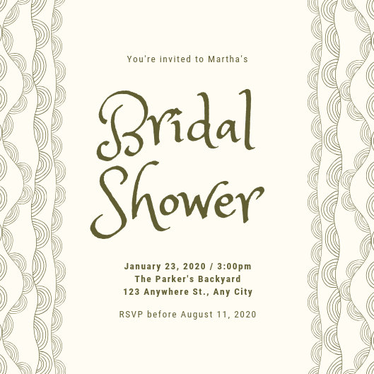 Customize 541+ Bridal Shower Invitation templates online - Canva