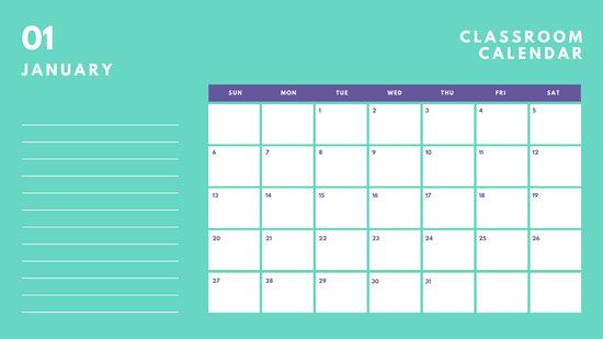 Customize 169+ Calendar templates online - Canva