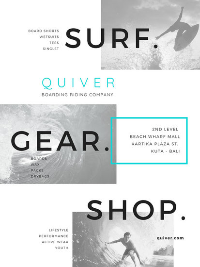 Surf Gear Shop Surfing Shop Advertising Poster - Templates by Canva